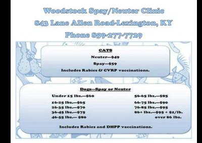 Woodstock Spay/Neuter Program
